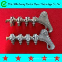 NLL alluminium liga estirpe braçadeira/tensão braçadeira/mortos-end braçadeira para fixação de linha eléctrica aérea