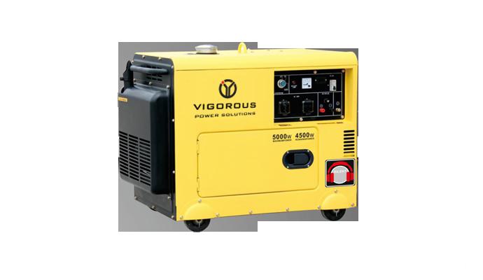 6.5KW Silent Diesel Powered Electric Generator