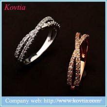 Wholesale alibaba wedding ring fine alloy zircon rings couple engagement ring
