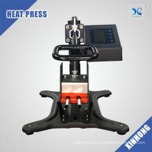 Manual heat transfer printing machine for pen