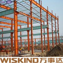 Estructura de acero de cobertizo de metal prefabricado