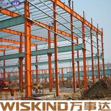 Estrutura de aço pré-fabricada de metal vertido