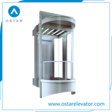 Advanced Control Observation Lift Outdoor Residential Passenger Panoramic Elevator