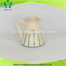 Chinesische Stil Keramik Blume Milch Topf
