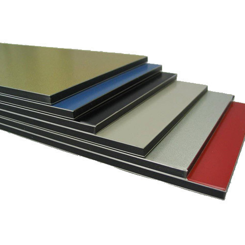 aluminium composite panel building