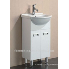 Hot selling white high gloss bathroom vanity