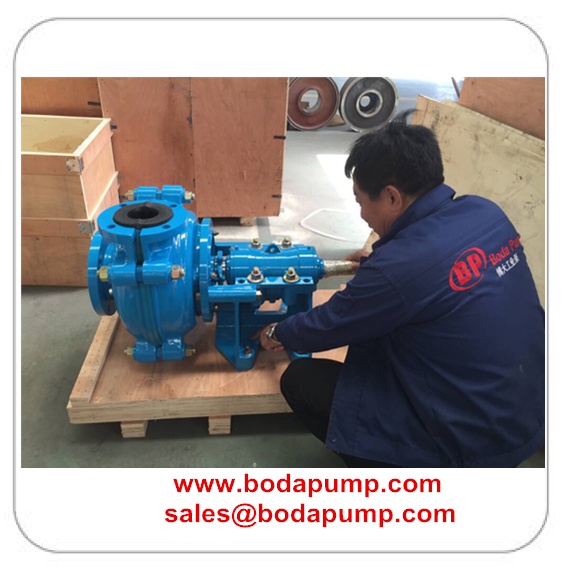 3-2 rubber slurry pump