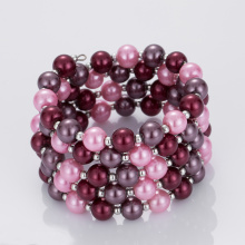 Goods high definition for Pearl Cuff Bracelet Wholesale Colored Faux Pearl Bracelets export to Azerbaijan Factory