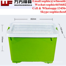 2018 new design Plastic injection container storage box mould