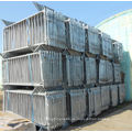 UK Typ Hot Dipped Galvanisierte Stahl Barrikaden