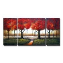 Пейзаж акриловые DIY холст масляной живописи для оптовых продаж Gx7212