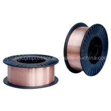 Fil de soudage blindé à gaz à gaz métallique en acier (ER50S-6)
