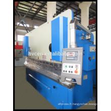 Machine de pliage d'angle en aluminium WC67Y-100T / 2500
