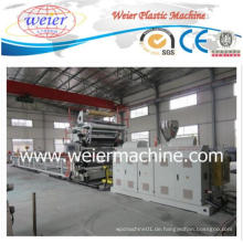 PVC-Nachahmung-Marmor-Blatt-Plastikextruder-Maschinen-Fertigungsstraße