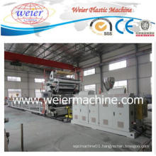 PVC Imitation Marbles Sheet Plastic Extruder Machine Production Line