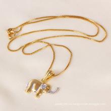 Joyería del colgante del elefante de la moda de Xuping