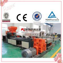 China 2015 PVC-Sohle Material zweistufige Luft-Kühlung Hot-Face Kunststoff Pelletiermaschine