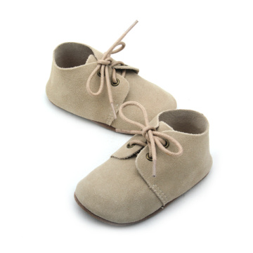 Nuevo estilo Unisex Real Leather Baby Oxford Shoes