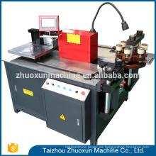 Precio barato Cnc Gullotine Manual procesado barra de desplazamiento de la máquina de cobre