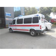 Voiture d'ambulance d'urgence ICU JMC 4x2 Transit