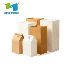 Folie Kraft papperspåse för matpaket
