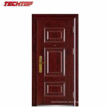 TPS-082c Heißer Verkauf Sicherheit Stahl Außentür mit Luxus-Design