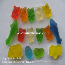 Jelly candy slices Sweet fruit flavour wholesale jelly soft candy