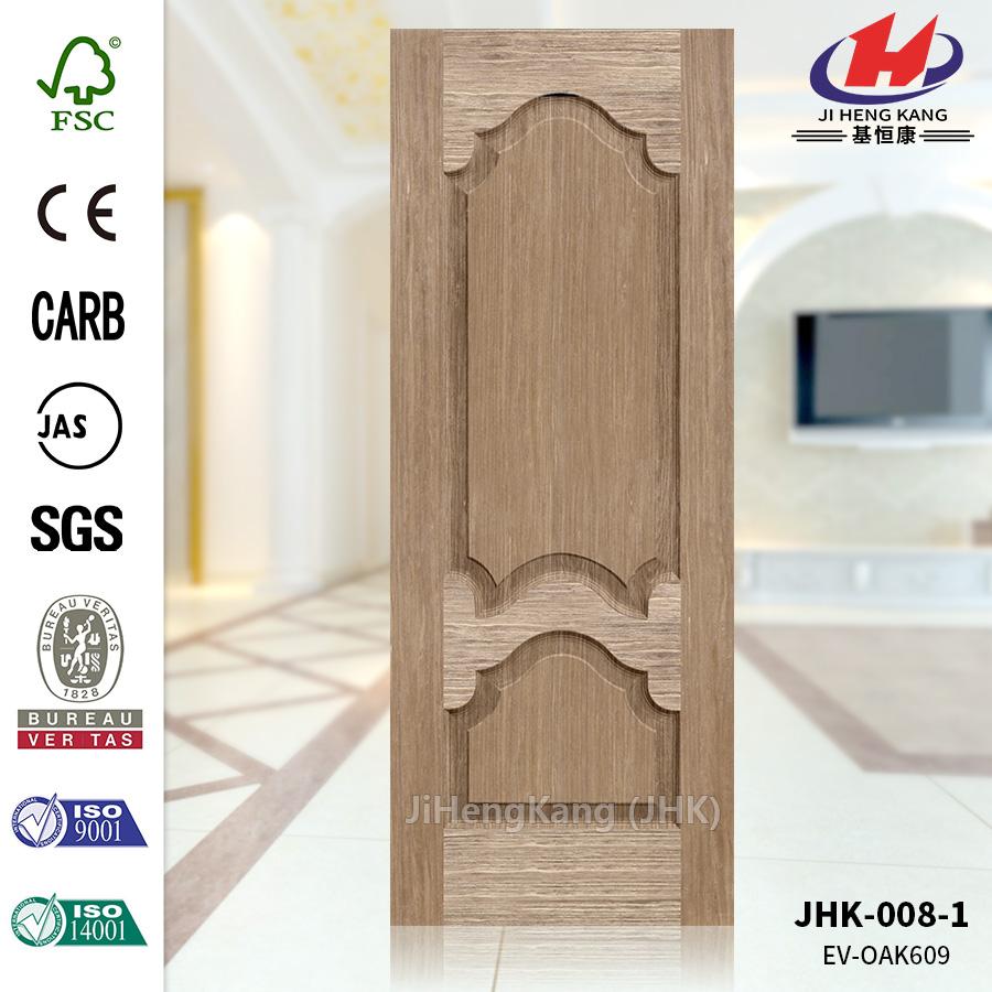 Texture Straight Veneer MDF Door Panel