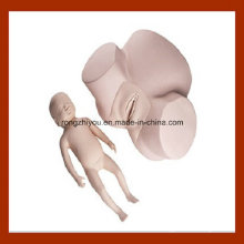 Simulador de parto avanzado, modelo de entrenamiento de partería