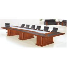 Tabla de la sala de conferencias de madera de China Manufacturing (FOH-H6017)