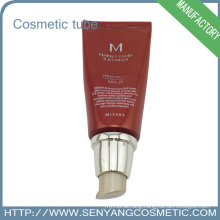 Hot Foil Cosmetic tube for plastic round packing