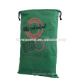 wholesale Large Christmas tote Holiday Reindeer Bags Original Santa Sack christmas personalized gift bags