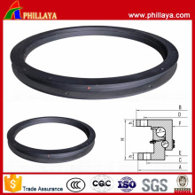 Double Ball Type Casting Turntable Trailer Slewing Ring