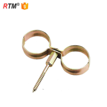 Metric stainless steel Double pipe clamps
