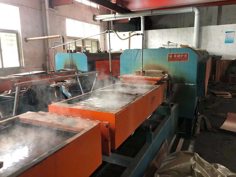 High sealing sintering furnace in the use