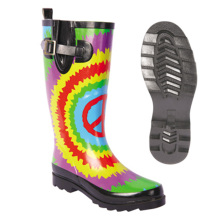 ODM for Pvc Shoe Cover Sunflower Ladies rain Rubber boots OEM Item supply to Israel Wholesale