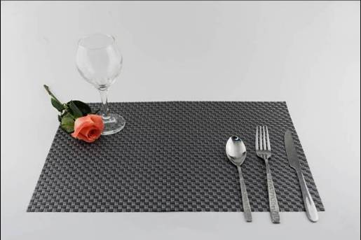 6 series PVC eat mat decoration cushion