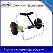 Folding beach cart, Hot-selling kayak trolley , boat trailer with wheels