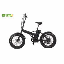 Rentable 20 '' eléctrico crucero de playa gordo neumático nieve bicicleta