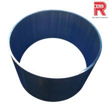 Perfis de extrusão de alumínio / alumínio do OEM para o tubo / tubulação de OPC