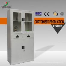 Armário de armazenamento de reagentes químicos / Armário de aço com duas portas