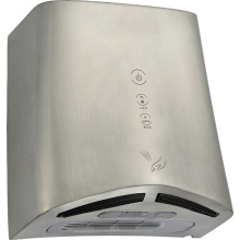 GS HEPA 12cm Doubled Air Outlet High Speed Automatic Hand Dryer for Restroom