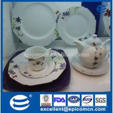 Vaisselle en porcelaine allemande multiedge populaire de haute qualité fabriquée en Chine