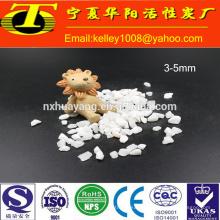 Arena de cuarzo blanco de 2-4 mm (arena de sílice) para el tratamiento del agua