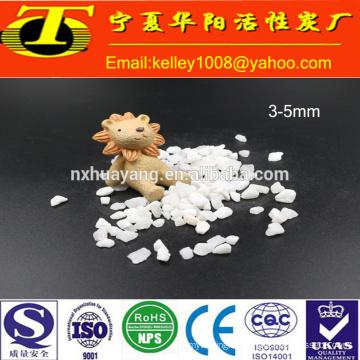 2-4mm white quartz sand (silica sand) for water treatment