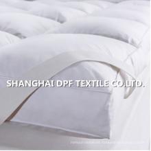 Almohadilla de colchón de algodón completo / Colchones de cama limpios limpios / Colchón antideslizante