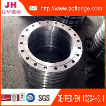 Material y carbono acero DIN2502 Pn16 brida es Rst37.2