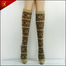 High Women Socks with OEM Service Custom Design
