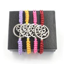 Pure Handgewebtes Armband für Männer und Frauen verstellbare Armbänder