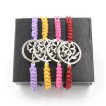 Pure Hand Woven Bracelet для мужчин и женщин регулируемые браслеты